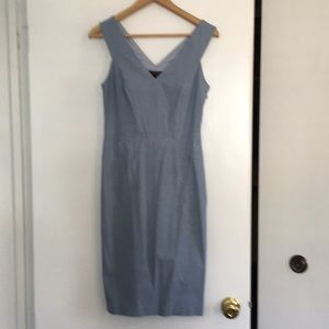 Chambray sheath